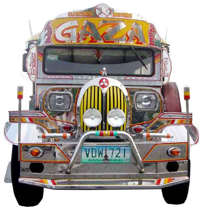 Philippines Jeepney / The Jeepney Collection No 69 / Gaza Jeepney - The Wedding Vehicle / The ...